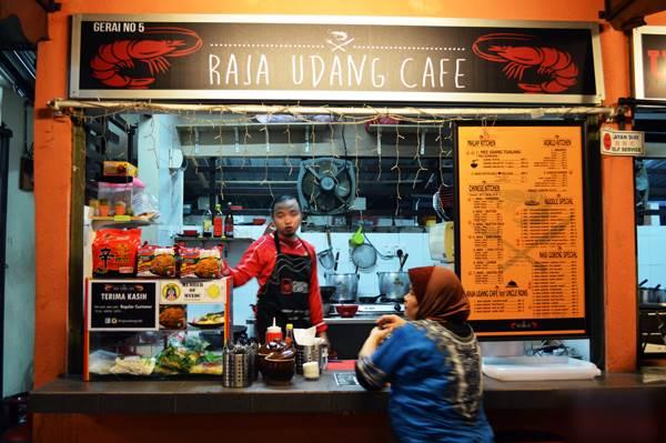 Gerai Raja Udang Cafe