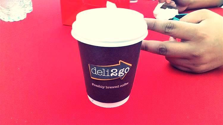 kopi panas deli2go Shell