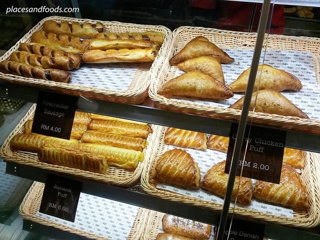 Pelbagai jenis roti