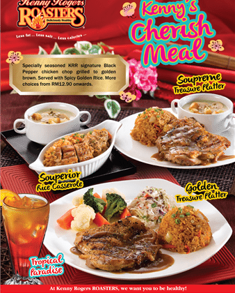 kenny rogers roaster menu