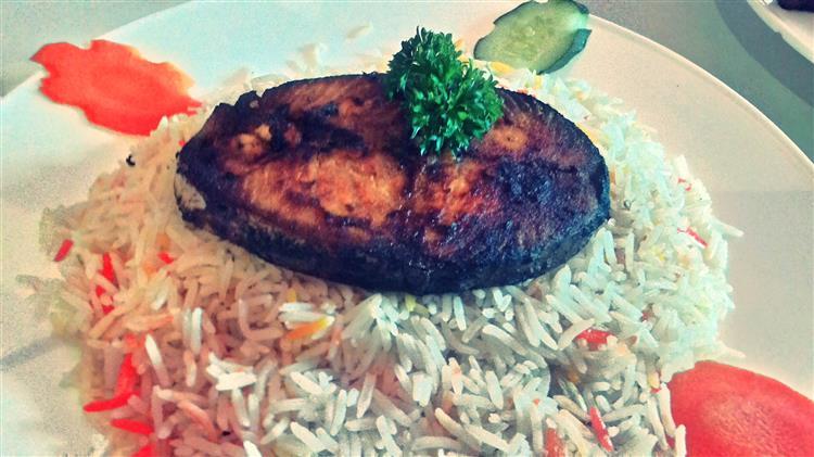 ikan mackerel panggang