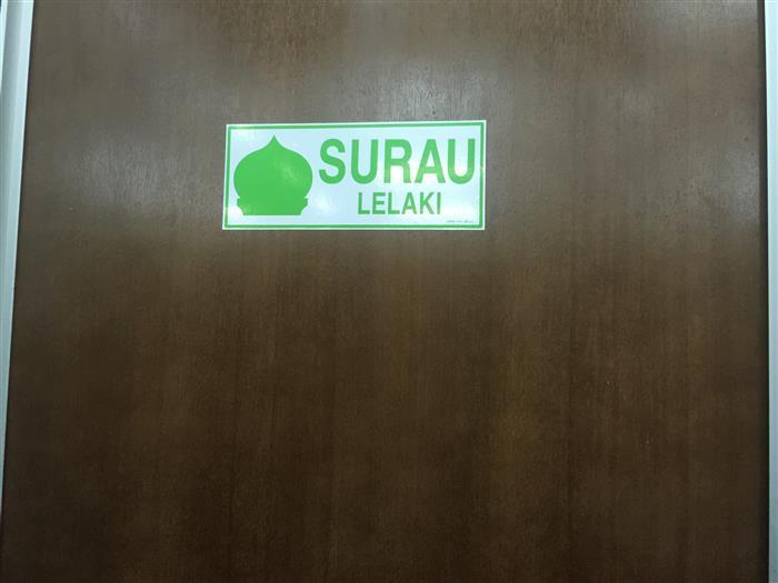 Surau untuk muslim tunaikan kewajipan