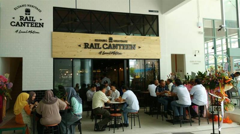 restoran Rail Canteen Kota Damansara