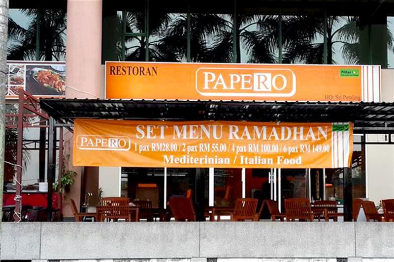 Restoran Papero Seksyen 13 Shah Alam