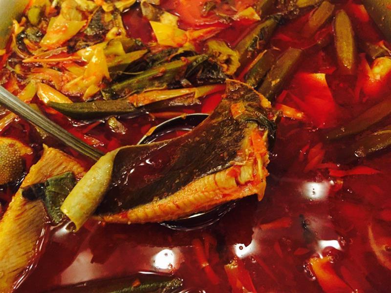 Asam Pedas Ikan Pari