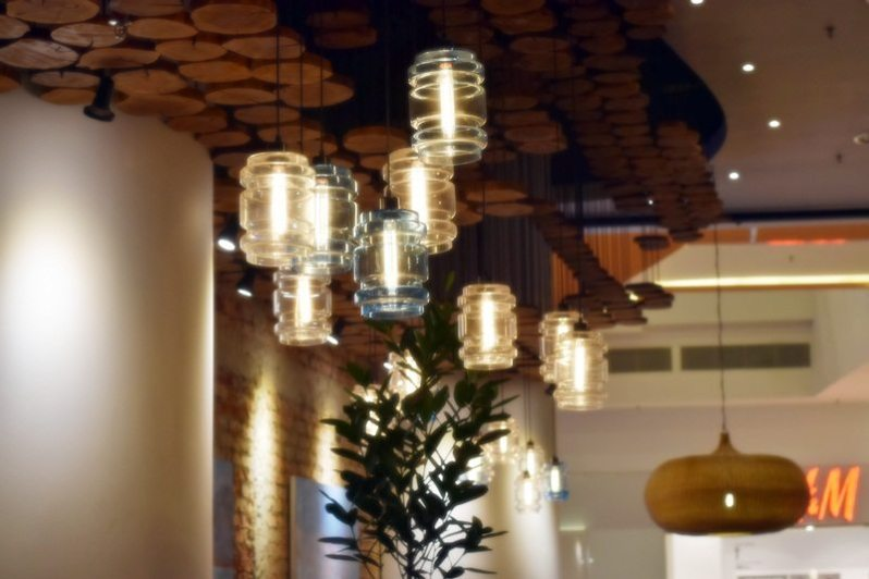 Lampu yang unik