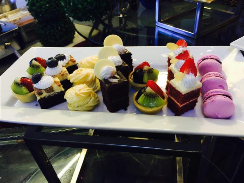 dessert colourful