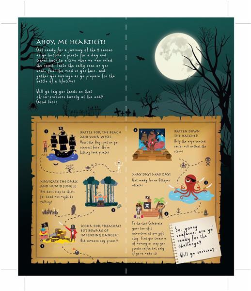 Pirate Adventure Brochure 1