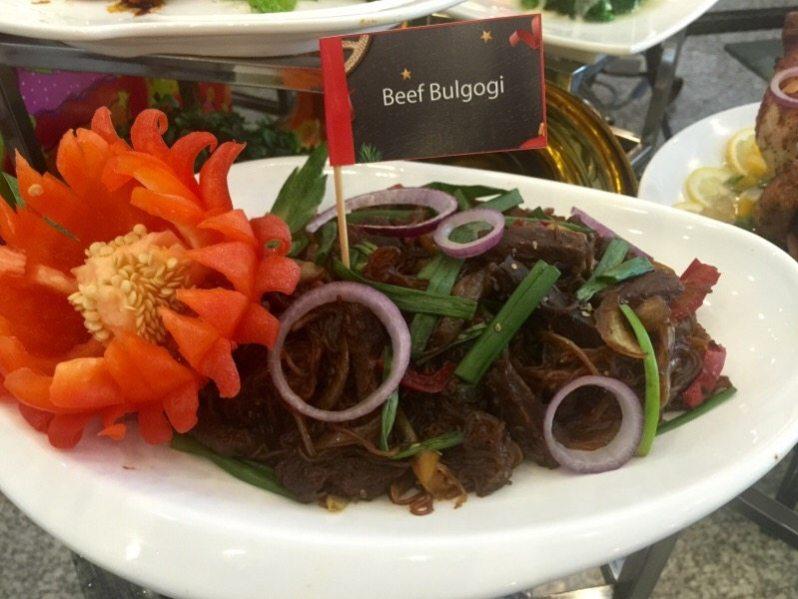 hi-tea-krismas-hotel-grand-bluewave-shah-alam-beef-bulgogi