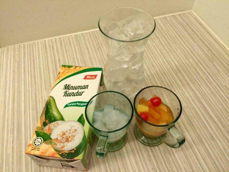 bahan-bahan untuk membuat air minuman Koktel Kundur Seikhlas Ramadhan