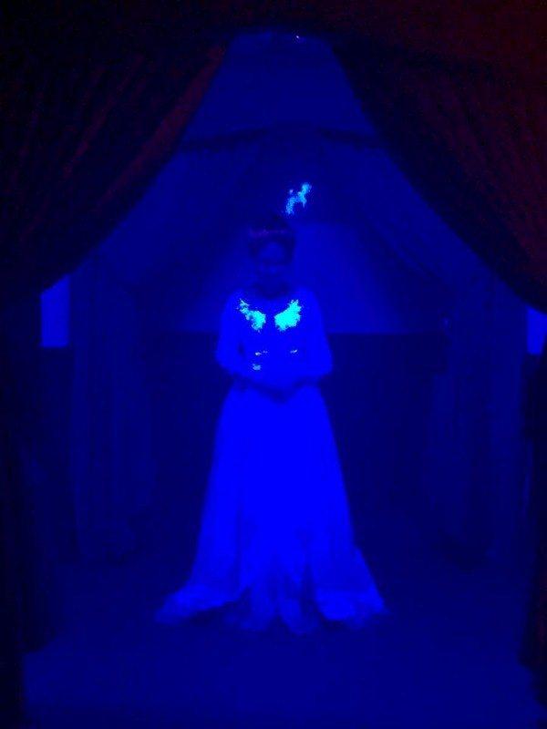 salah satu hantu di Aldridge Mansion and Museum