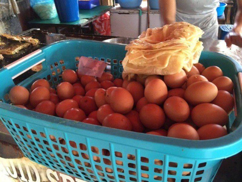 telur - bahan wajib untuk murtabak