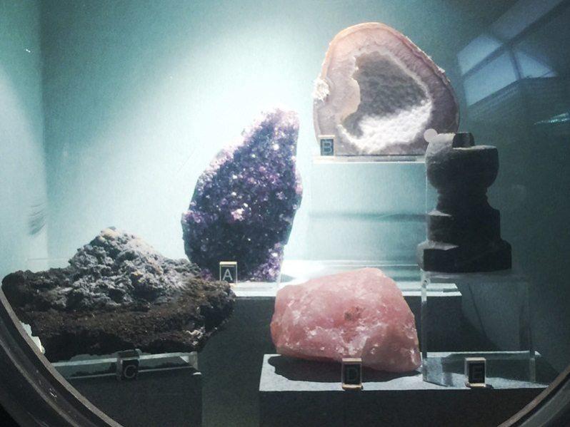 Batuan yang boleh didapati di Lombong Bijih Timah Sg Lembing