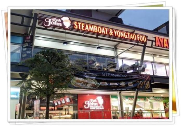 Restoran Pak John Steamboat adalah antara segelintir restoran yang nampak keberkesanan pengiklanan melalui blog
