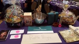 Wonderful prizes at the Raffle!