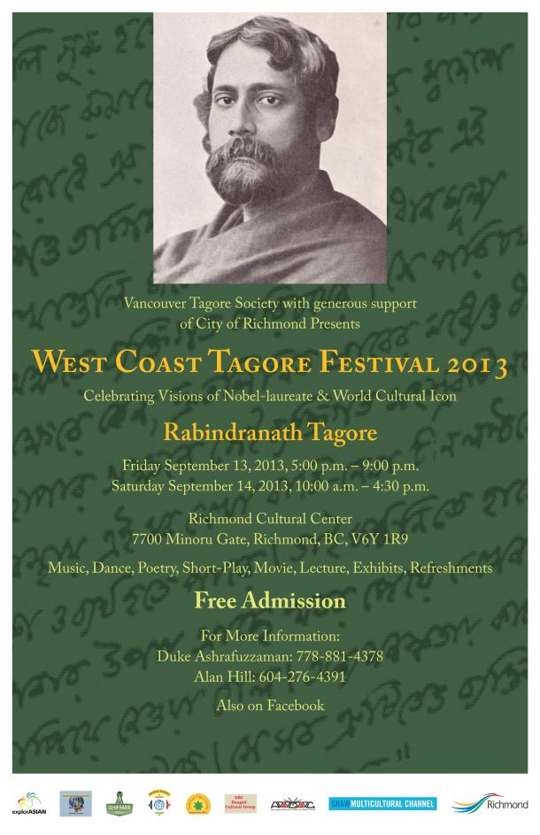 Tagor Festival 2013 - Poster