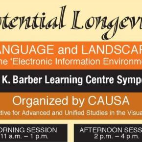 """Potential Longevity: Language and Landscape in the """"Electronic Environment"""""""