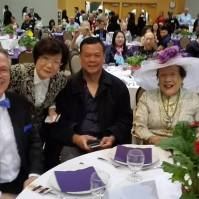 Advisor Winnie Cheung's table at Recognition Gala