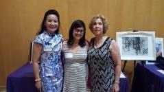 Silent Auction team Esaine, Eleanor, and Marlene