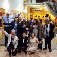 The VAHMS team behind the Recognition Gala celebrates a successful Gala! Thanks so much to all of you for all your hard work!