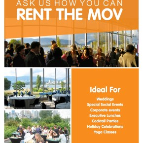How to Rent the Museum of Vancouver!