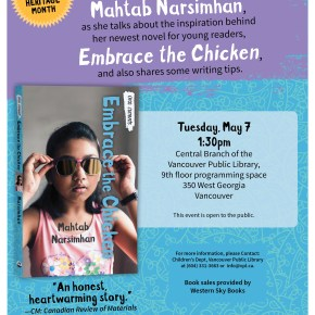 Embrace the Chicken, Book Launch