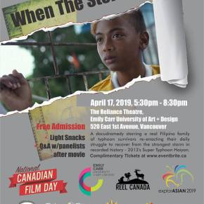 When The Storm Fades, National Canadian Film Day