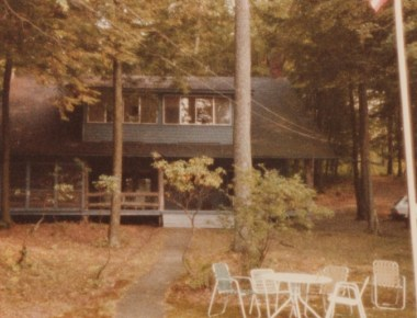 The lake house, c. 1980