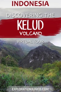 Mount Kelud volcano