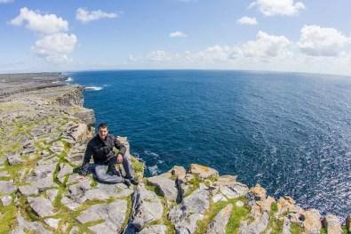 Cliffs of Inishmore Island, Ireland