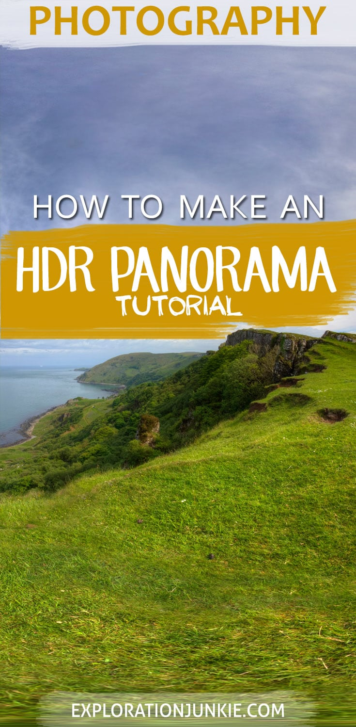 how to make an hdr panorama