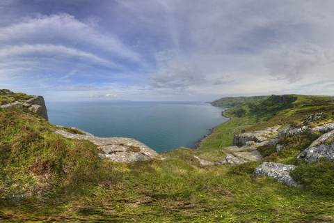 The Wild Cliffs of Fair Head, A World of Silence – Northern Ireland, UK