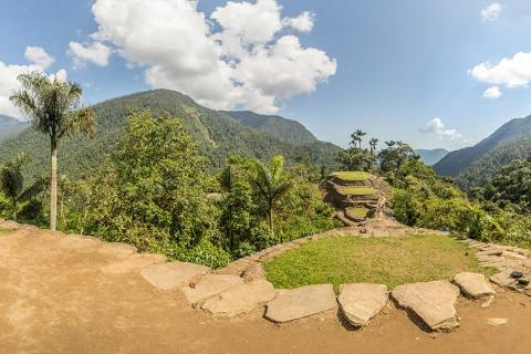 Trek To The Lengendary Ciudad Perdida, The Lost City of The Tayrona, Colombia