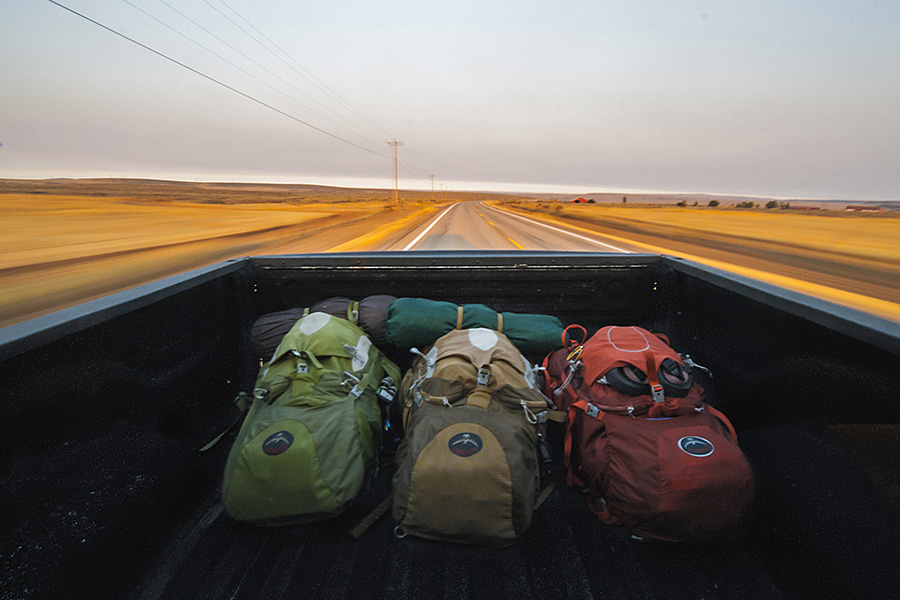 Backpacking planning