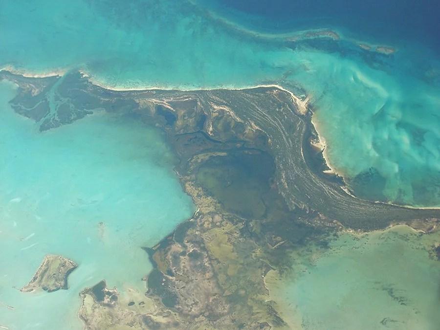 Cuba aerial view