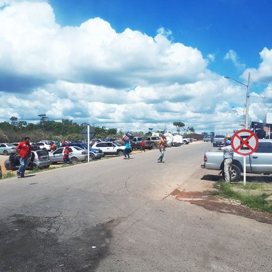 Is it safe to travel to venezuela - Border