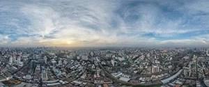 Bangkok, Aerial View