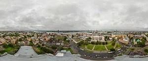 Riga, Aerial View