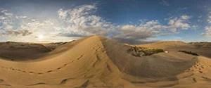 Ica Desert, Huacachina Sand Dunes