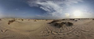 Desert near Sealine Beach