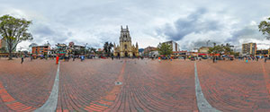 Bogota, Chapinero, Plaza de Lourdes