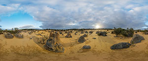 Pinnacles Desert, Evening