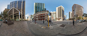 Perth, Downtown