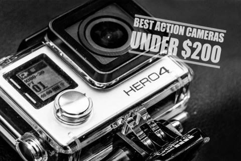 Best action cameras under 200