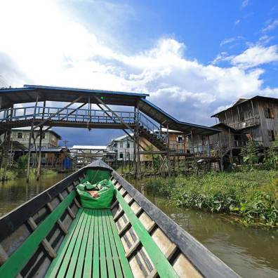 Inle Lake Floating Villages