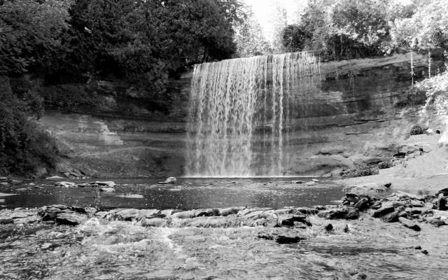 Bridal Veil Falls. Manitoulin Island