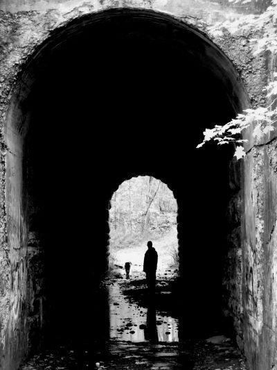 The Screaming Tunnel. Niagara Falls, Ontario.