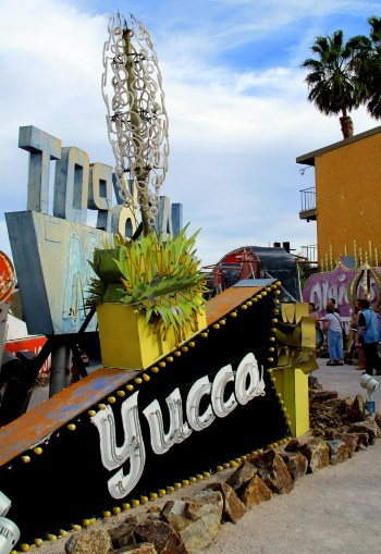 Yucca Neon Sign
