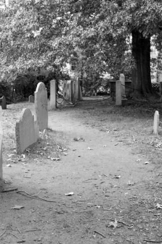 Burying Point Cemetery, Salem, MA