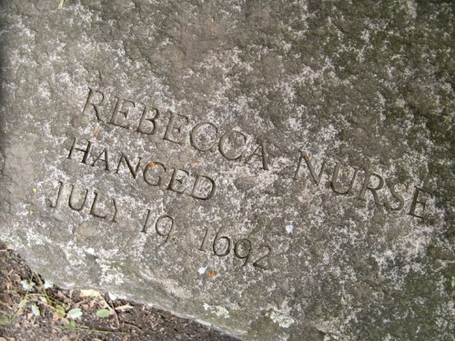 """""""Witch"""" Rebecca Nurse Memorial"""